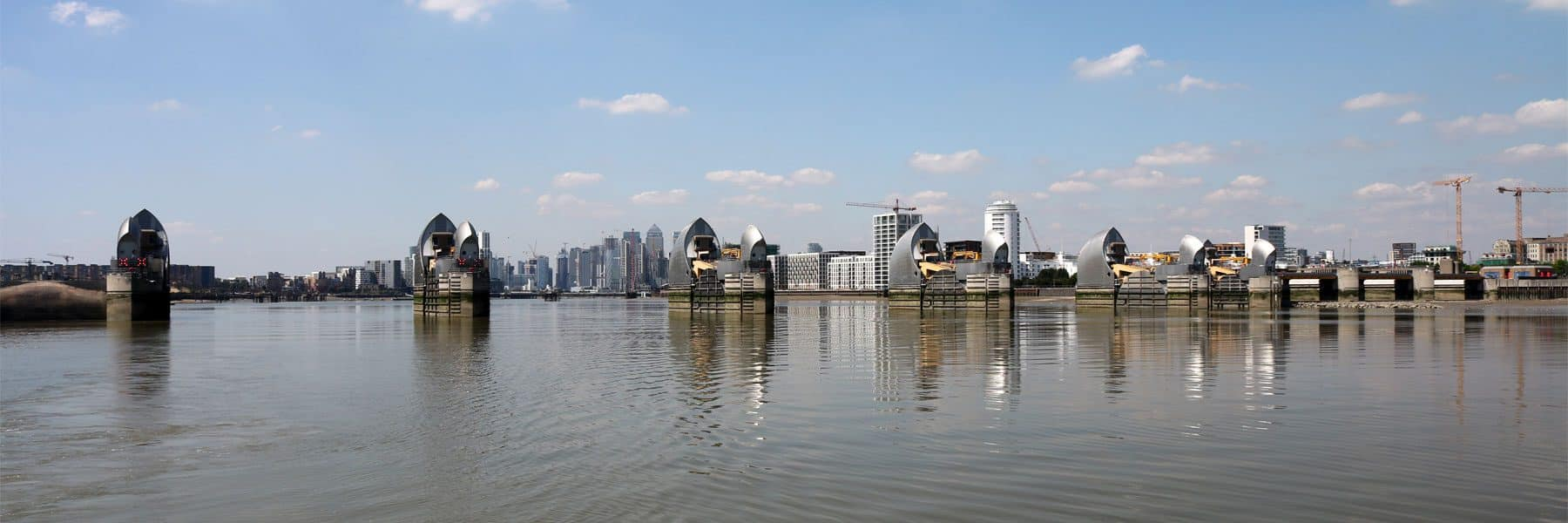 Thames Flood Barrier, Woolwich Reach