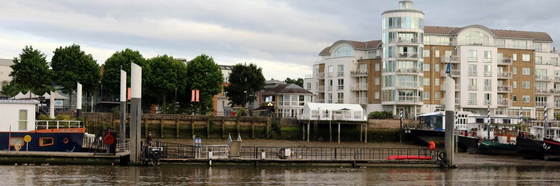 Wandsworth Riverside Quarter Pier