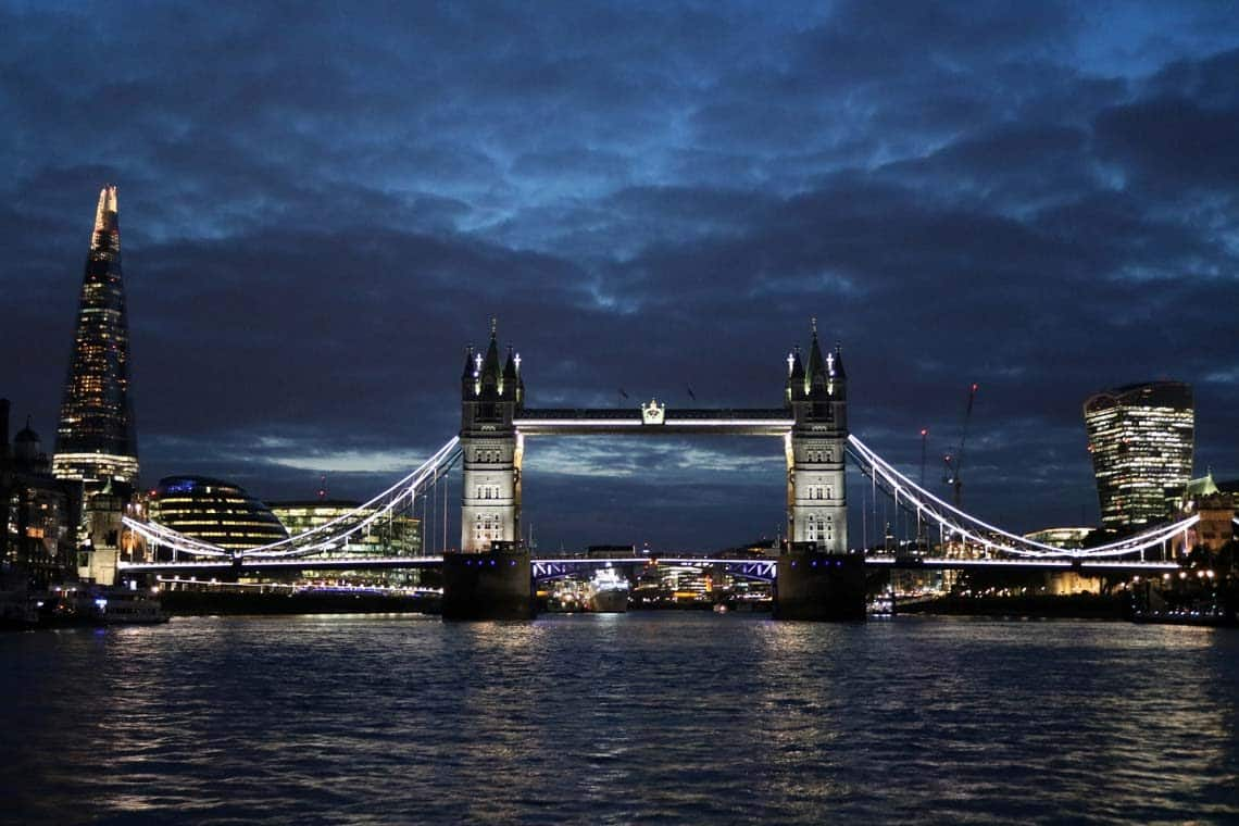 London Christmas Cruises
