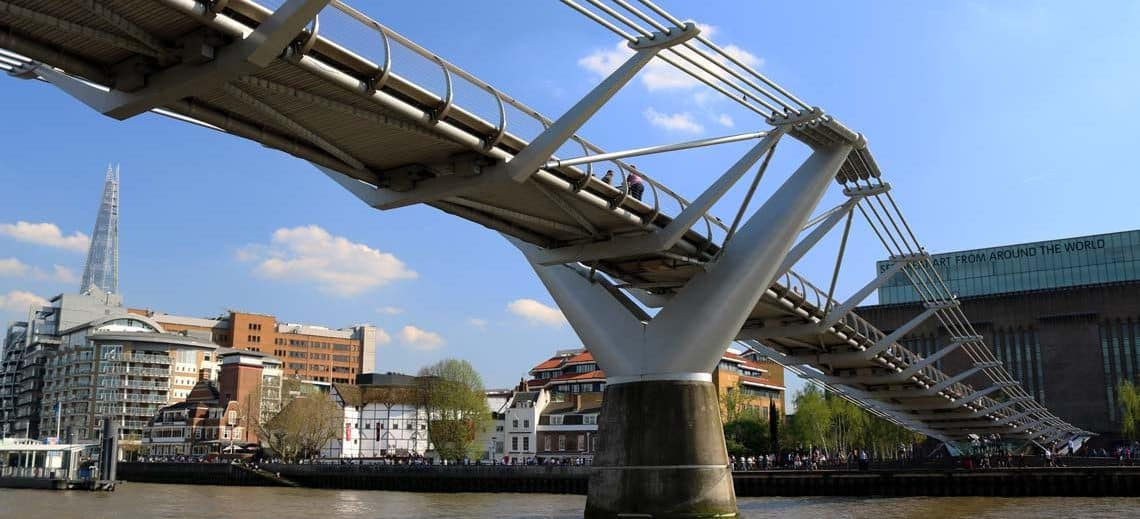 Millennium Bridge, Bankside