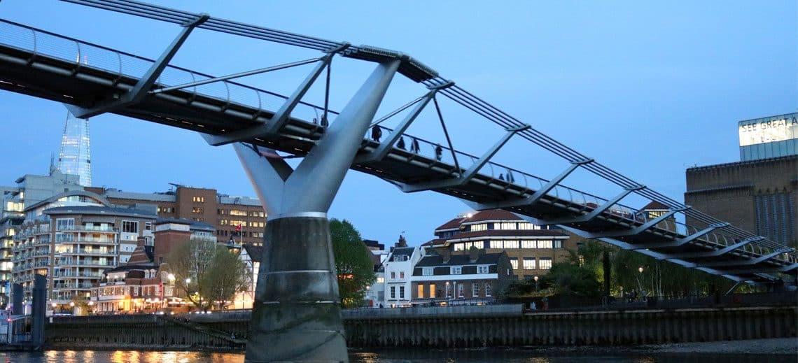 Millennium Bridge, Bankside