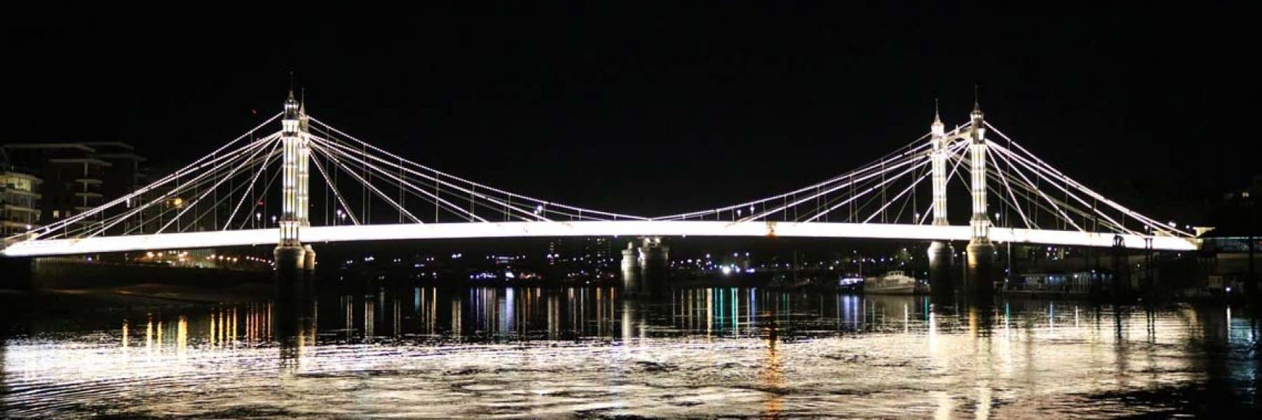 New Year's Eve Cruises, Albert Road Bridge, Chelsea | Viscount Cruises