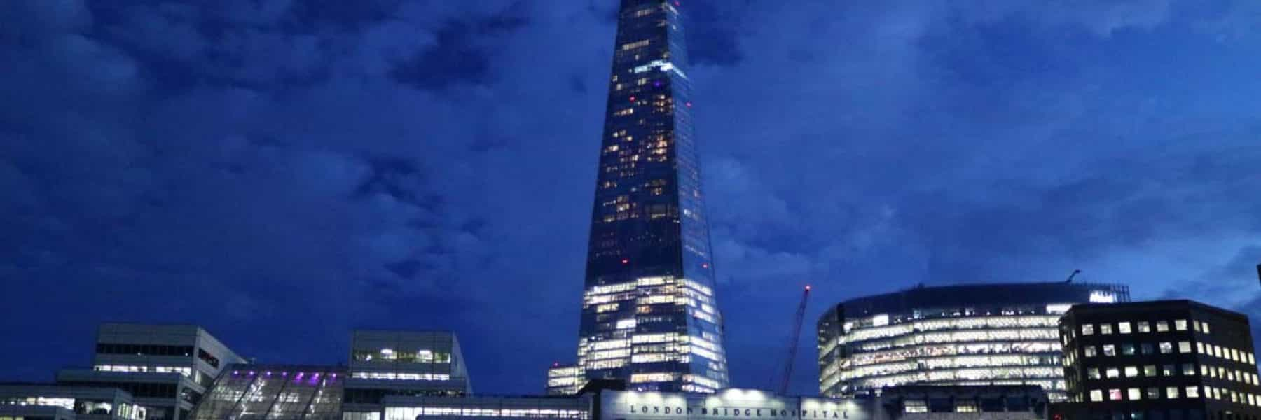 New Year's Eve Cruises, London Bridge City & The Shard | Viscount Cruises