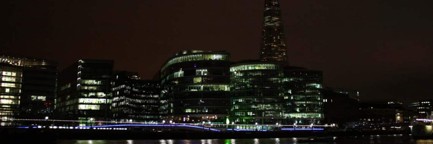 New Year's Eve Cruises, Upper Pool & The Shard | Viscount Cruises
