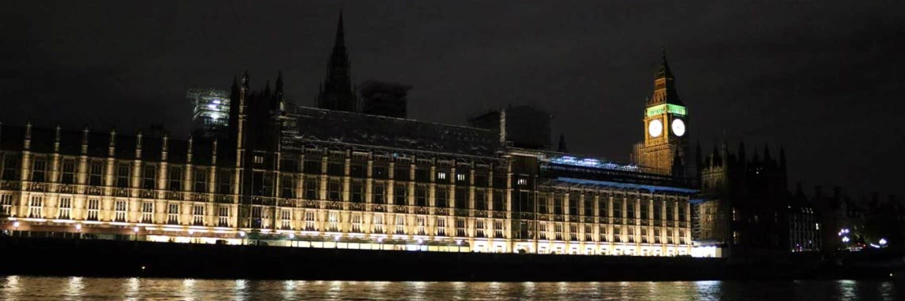 New Year's Eve Cruises, New Palace of Westminster | Viscount Cruises