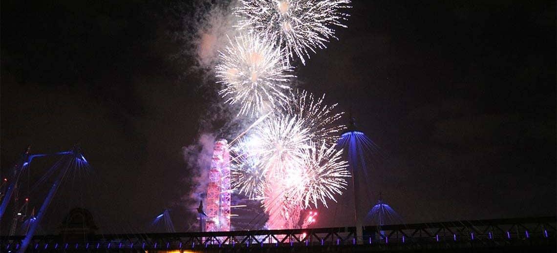 New Year's Eve Firework Display