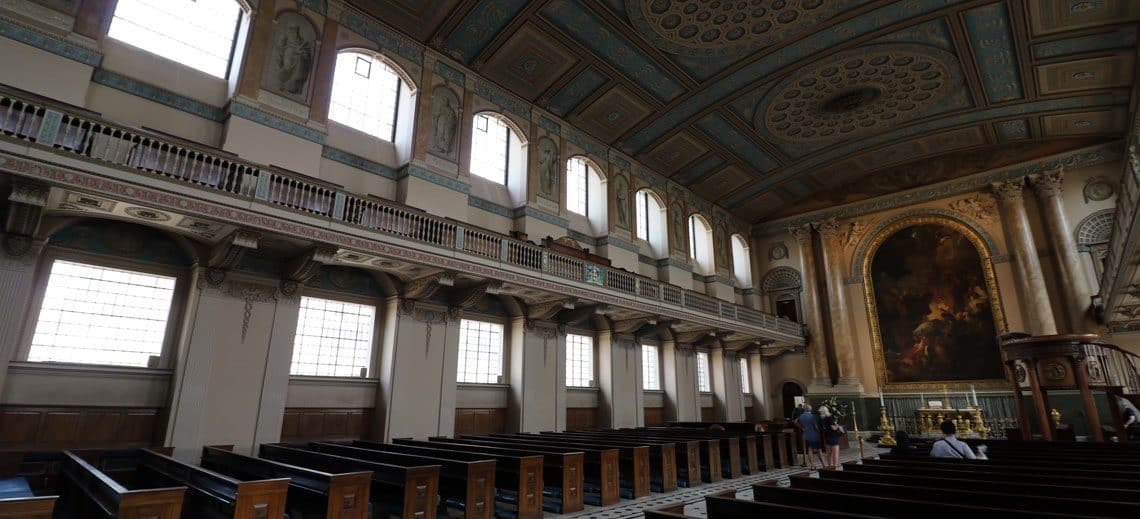 Old Royal Naval College, The Chapel of St Peter & St Paul​