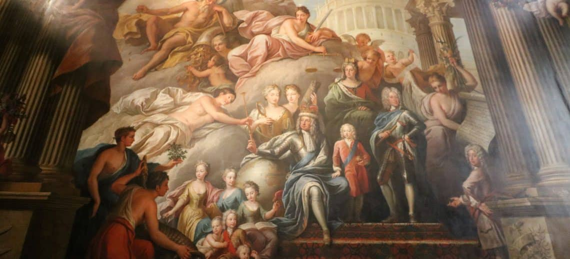 The West Wall - George I, His Family and His Virtues