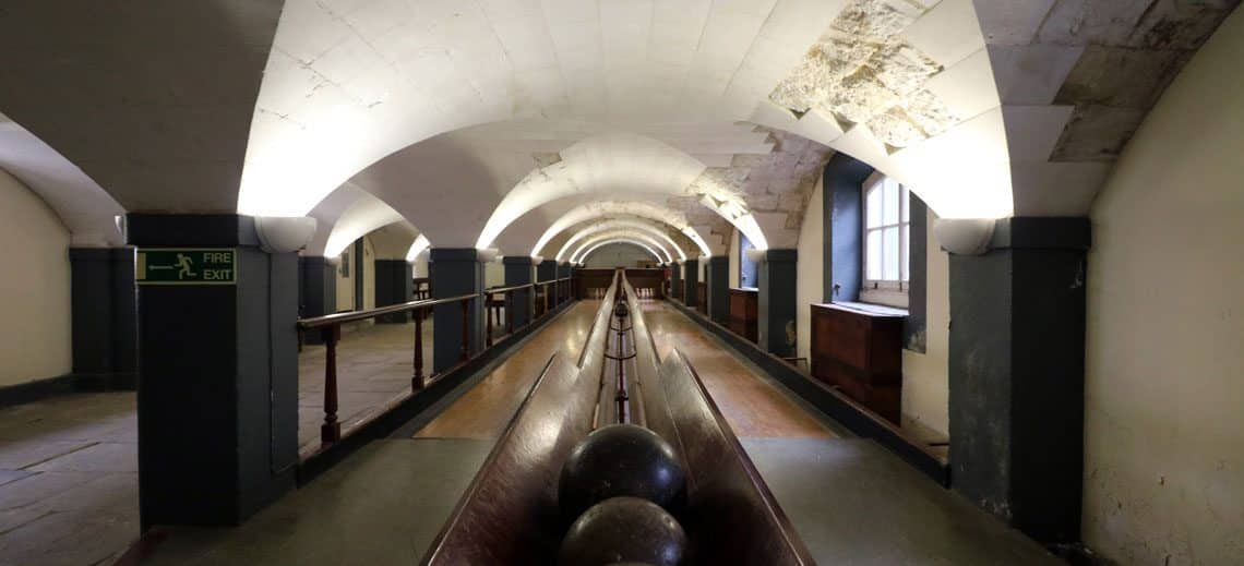 Old Royal Naval College, Victorian Skittle Alley