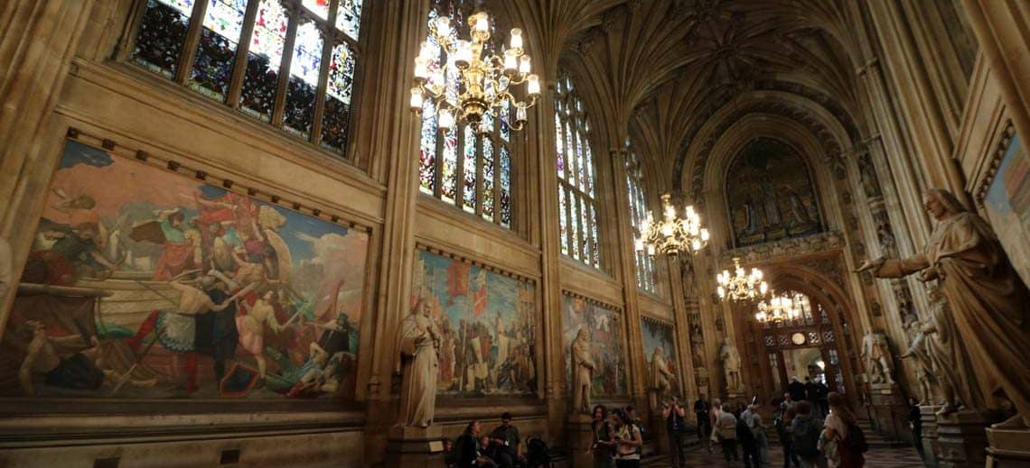St. Stephens Hall, New Palace of Westminster