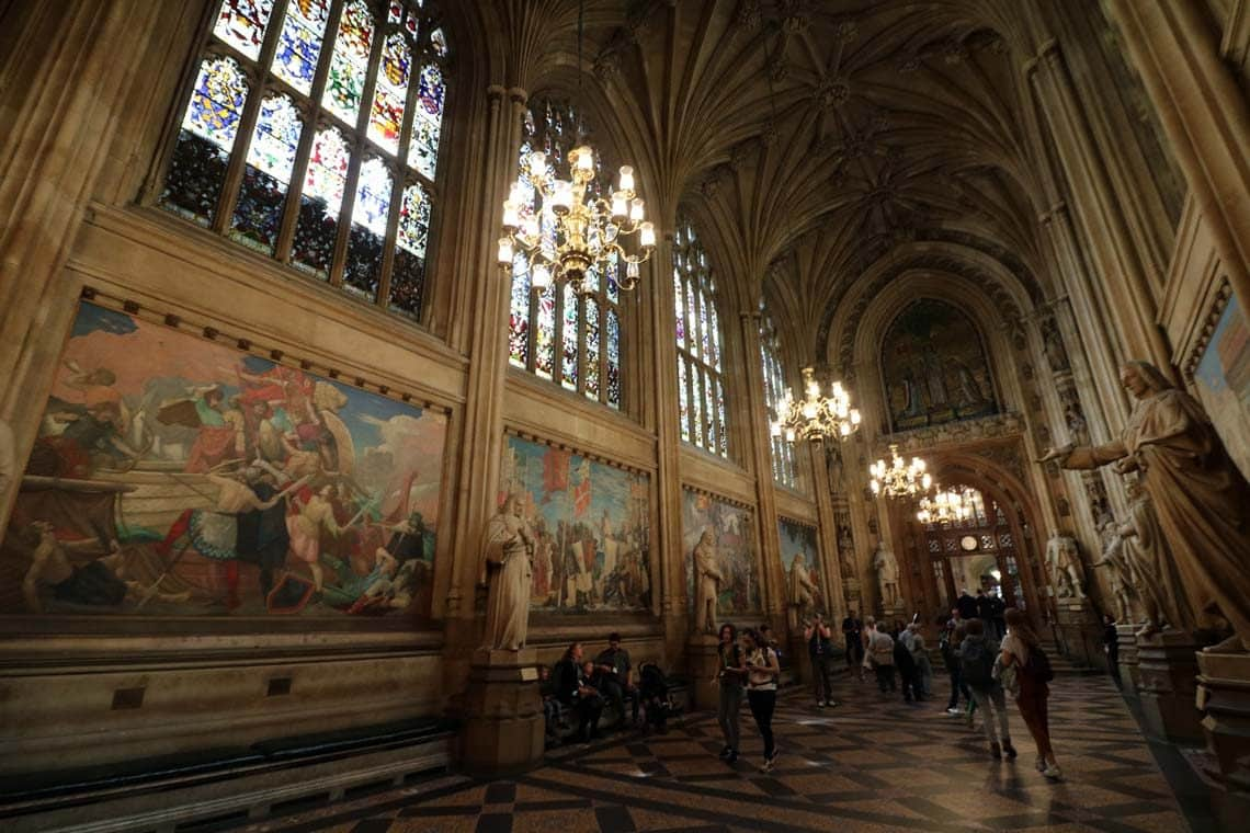 New Palace of Westminster (Houses of Parliament), St. Stephens Hall
