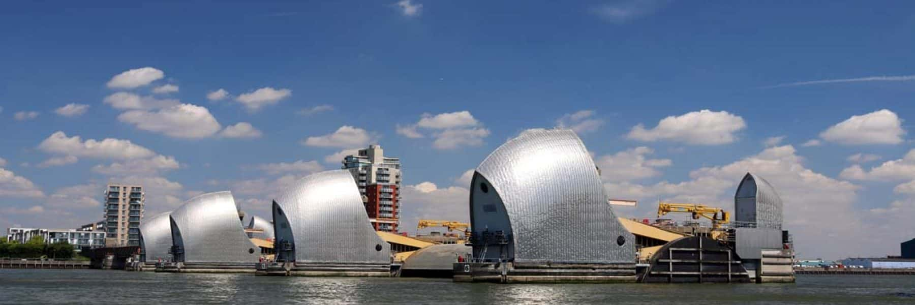 Thames Flood Barrier, Woolwich