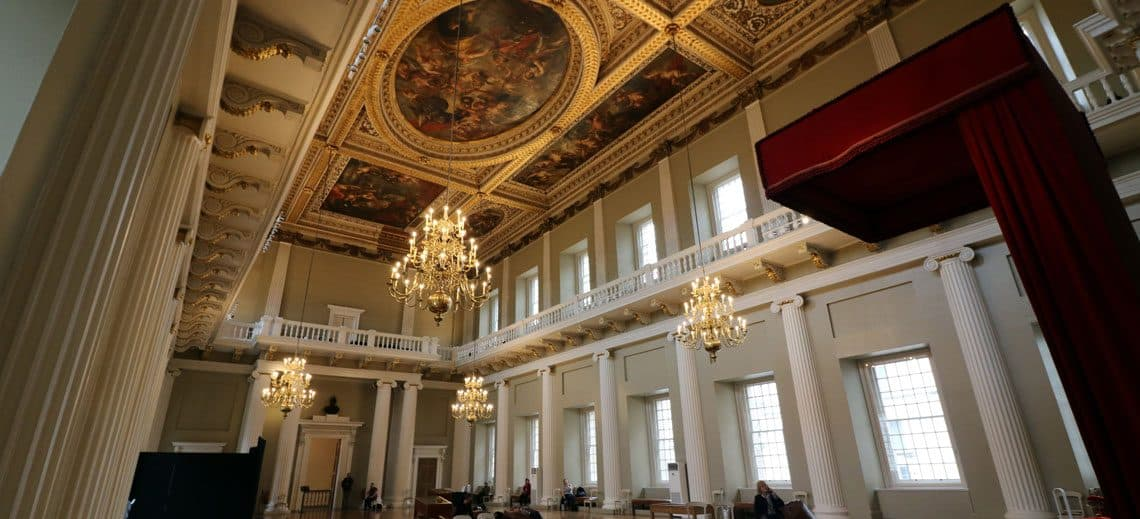 The Banqueting House, Whitehall Sir Peter Paul Rubens Ceiling at The Banqueting House