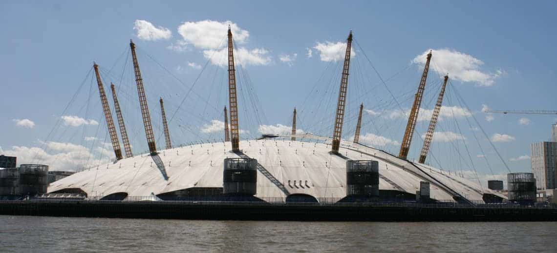 The O2, Greenwich Peninsula, Royal Borough of Greenwich