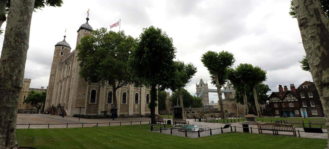 Tower of London, Tower Green & Scaffold Site