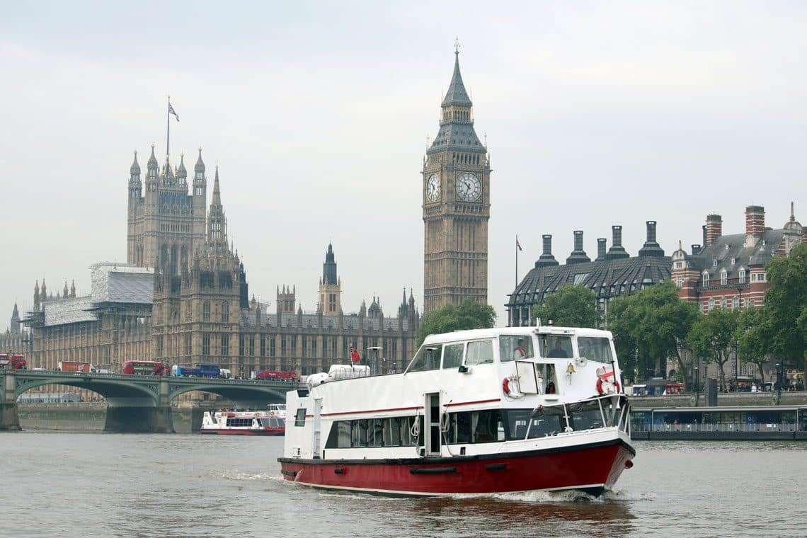 M.V Valulla at Westminster