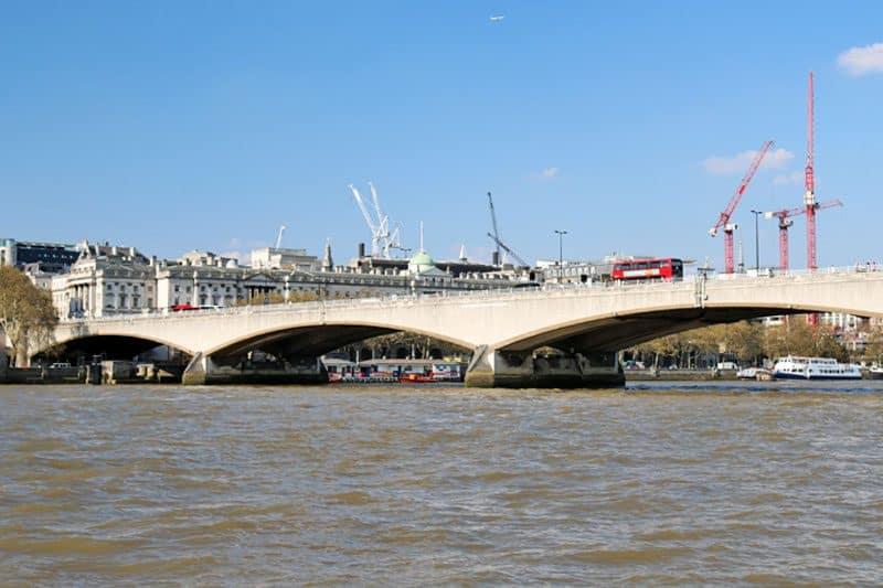 Waterloo Bridge, King's Reach