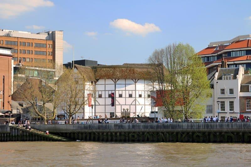 Shakespeare's Globe, Bankside, South Bank, London Borough of Southwark