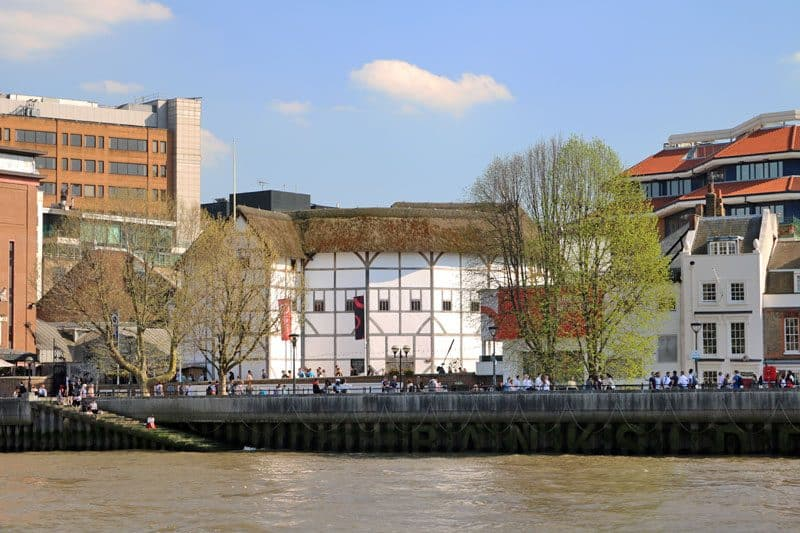 Shakespeare's Globe, Bankside, South Bank, London Borough of Southwark