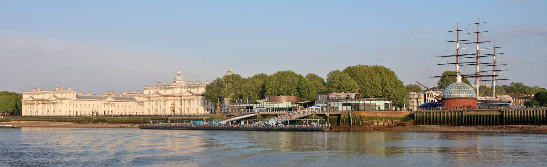 Maritime Greenwich & Greenwich Pier