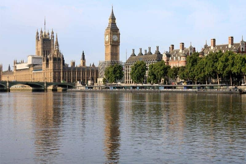 The City of Westminster & Lambeth Reach