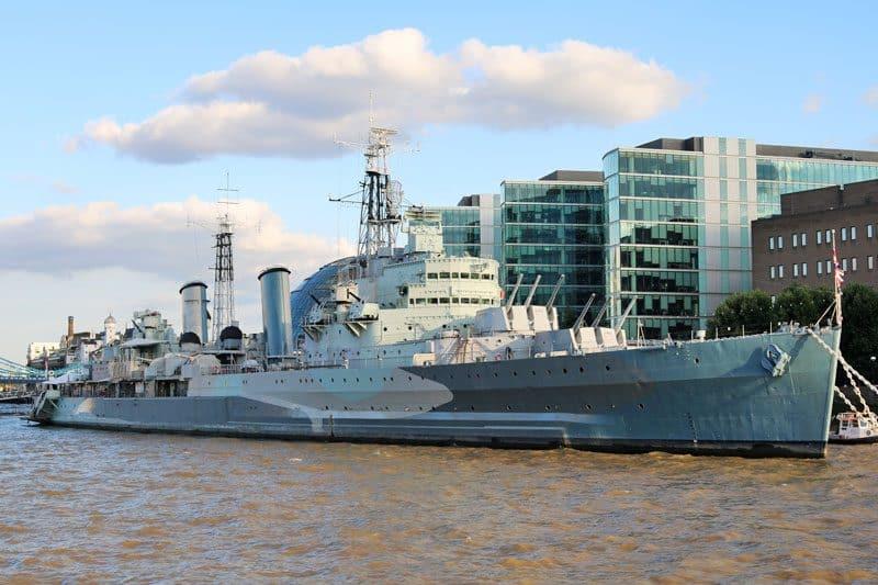 HMS Belfast 1938 (C35), Upper Pool
