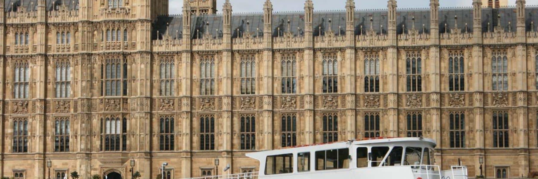 M.V London Rose at Westminster