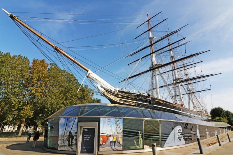 Tea Clipper Cutty Sark, Royal Borough of Greenwich