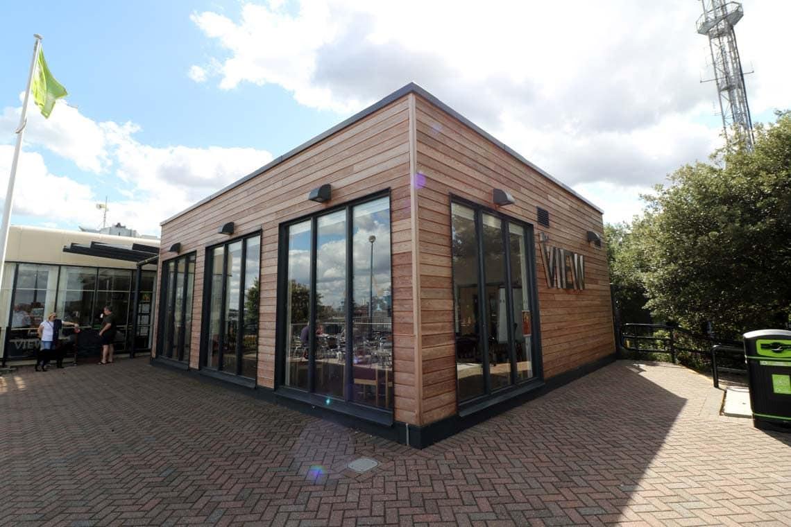 The Thames Barrier Information Centre & The View Café