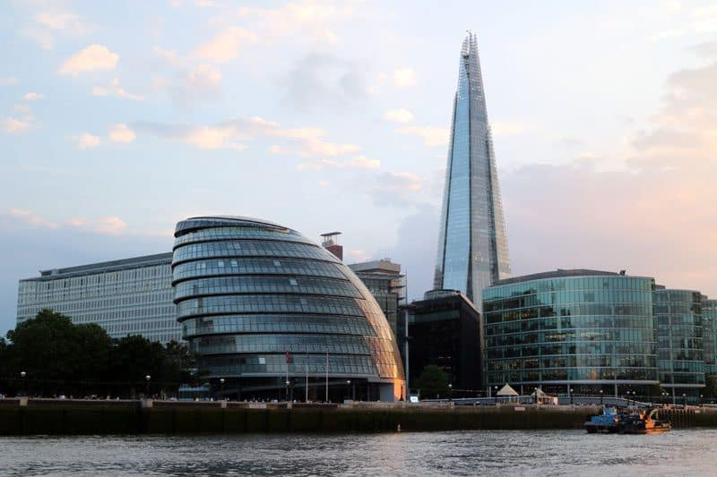 City Hall & the Shard, London Borough of Southwark
