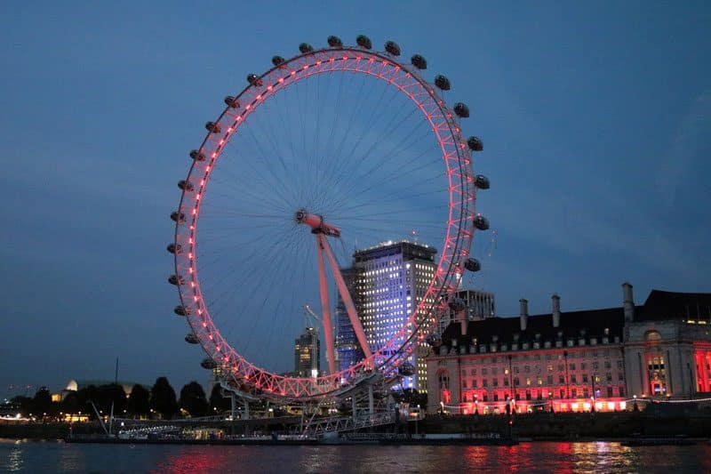 The London Eye, Waterloo