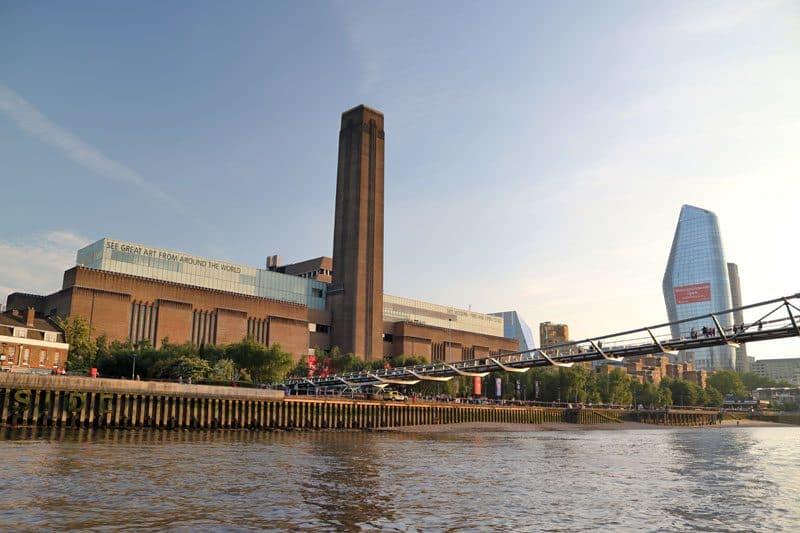 The Tate Modern & Millennium Bridge, Bankside