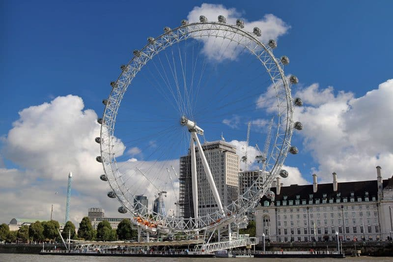 The London Eye, Waterloo, London Borough of Lambeth