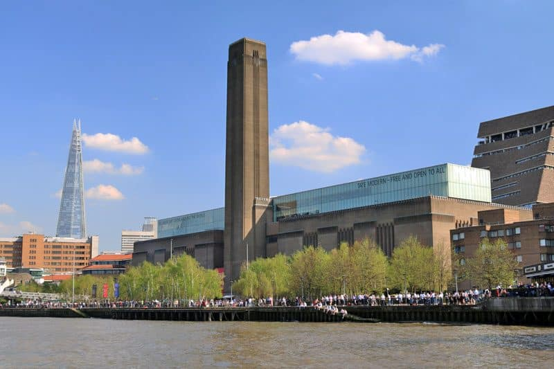 Tate Modern, Bankside, South Bank, London Borough of Southwark