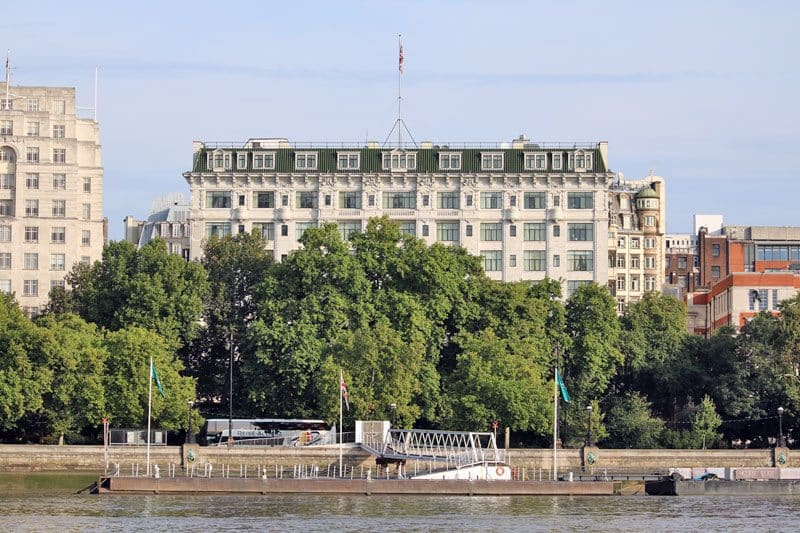 Savoy Hotel, Victoria Embankment, City of Westminster