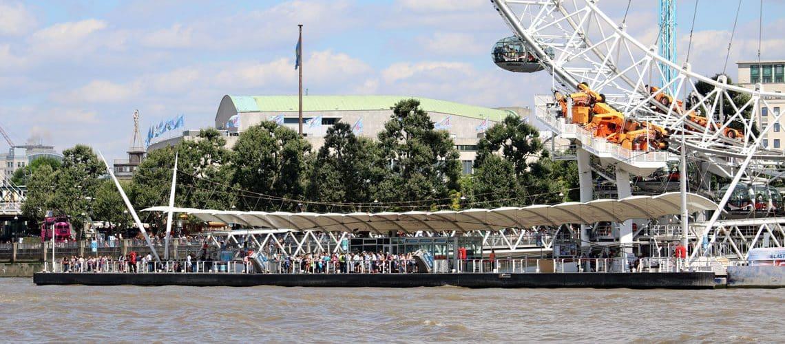 Waterloo Millennium Pier