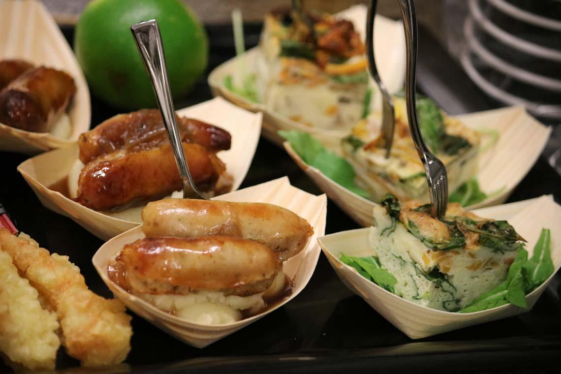 Miniature Sausage & Mash