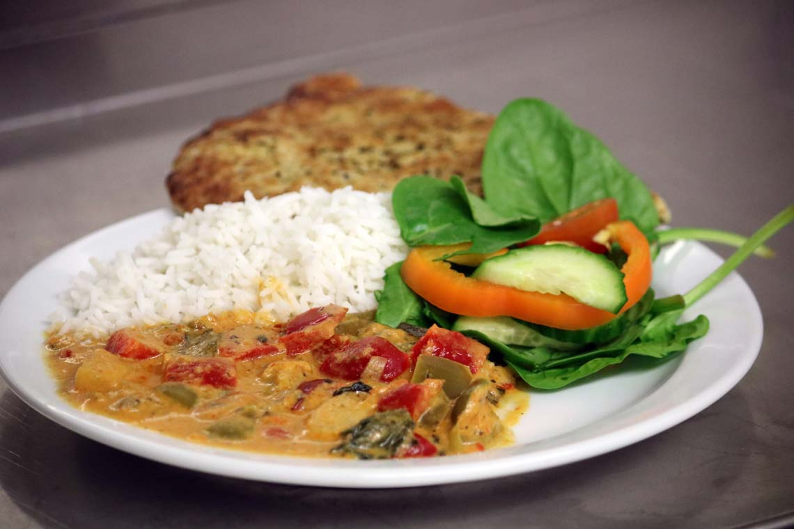 Red Thai Vegetable Curry