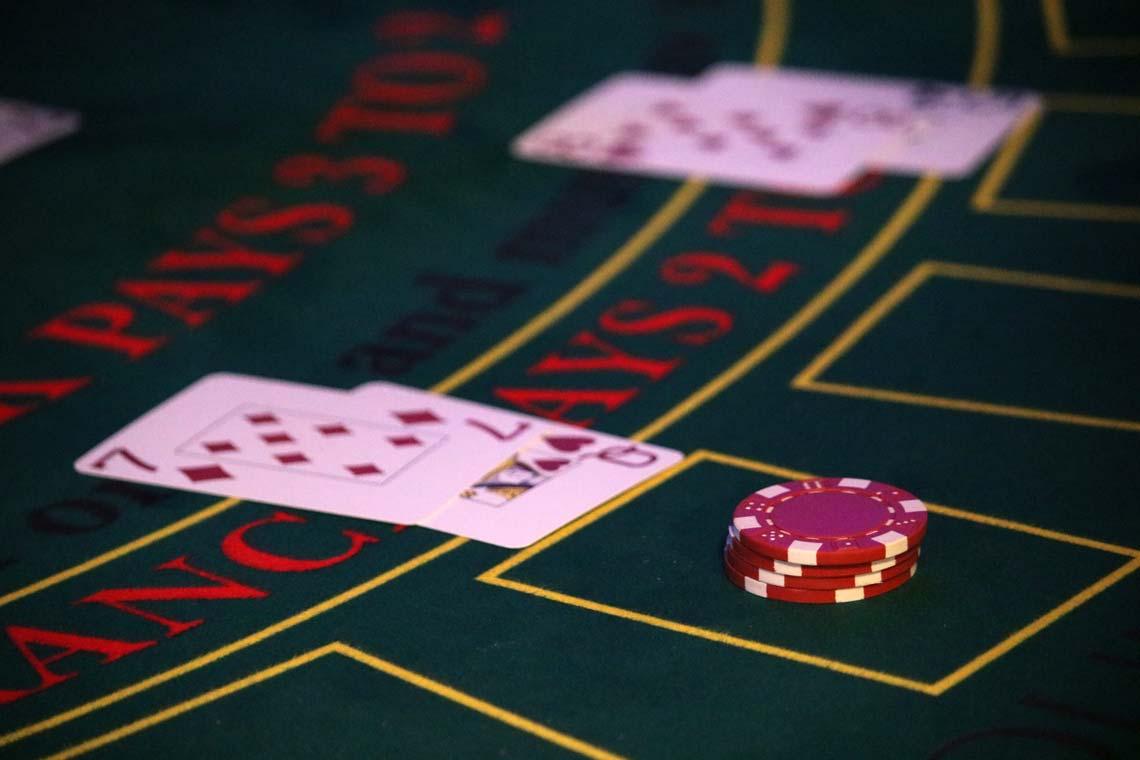 Casino Table, Blackjack