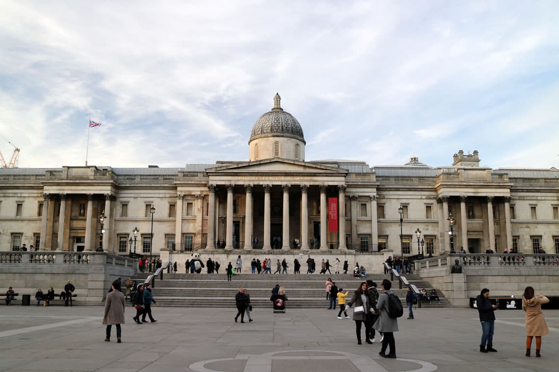 The National Gallery, Trafalgar Square