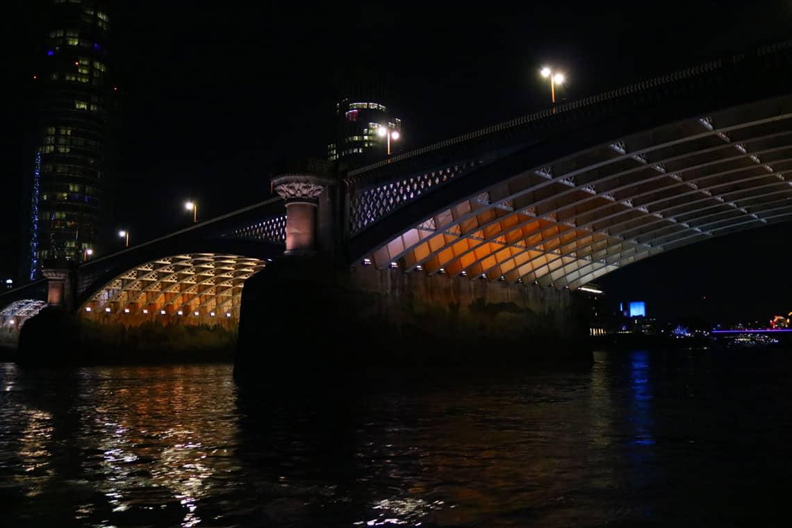 Blackfriars Road Bridge & the Illuminated River Project