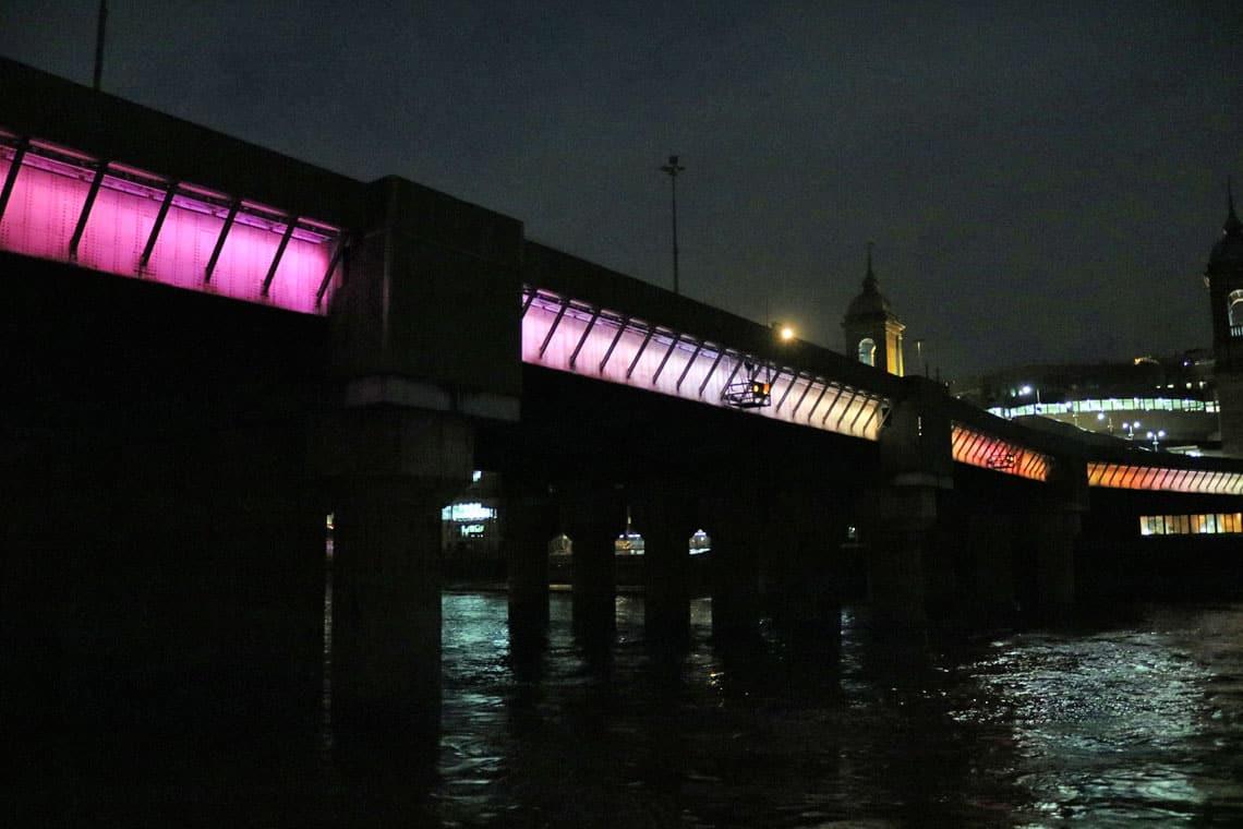 Cannon Street Railway Bridge & the Illuminated River Project
