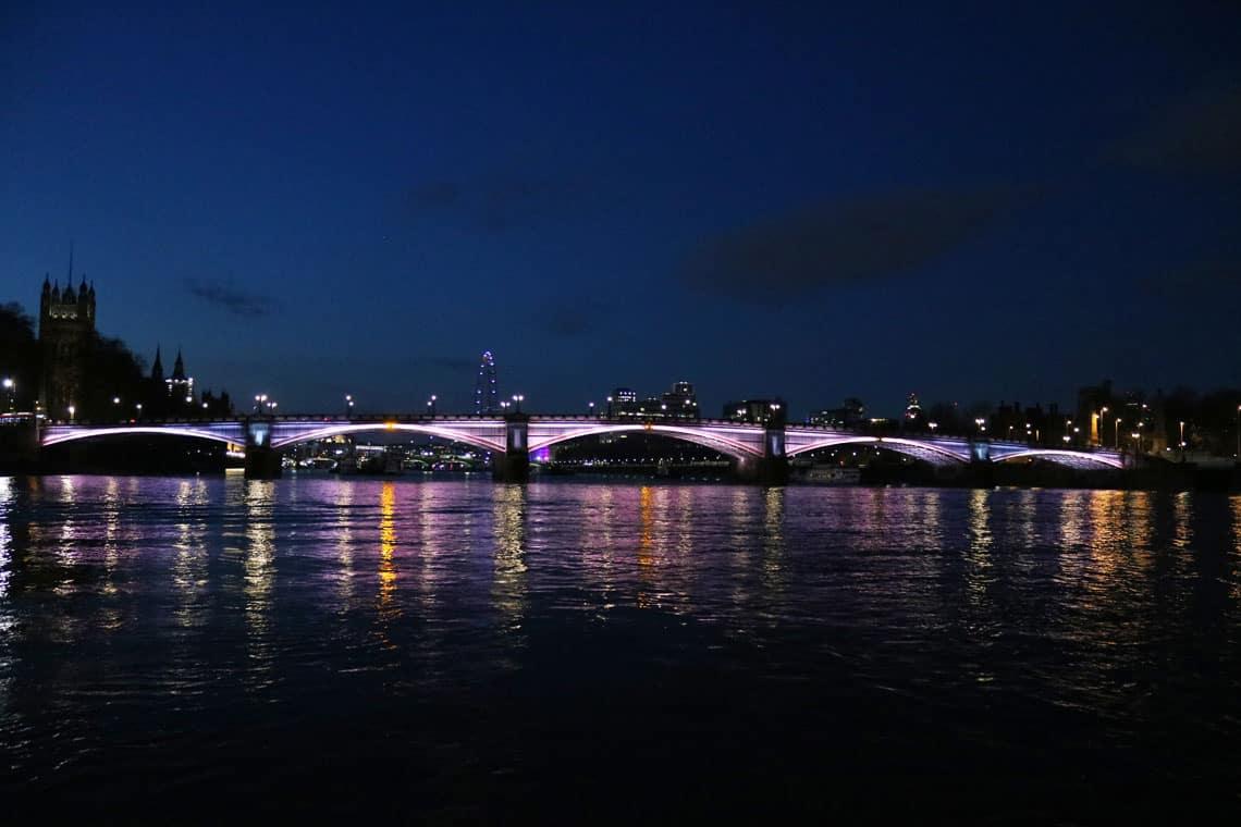 Lambeth Bridge & the Illuminated River Project