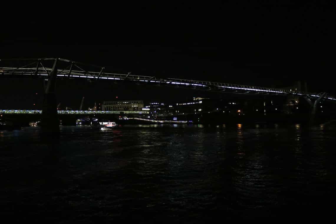 The Millennium Bridge & the Illuminated River Project