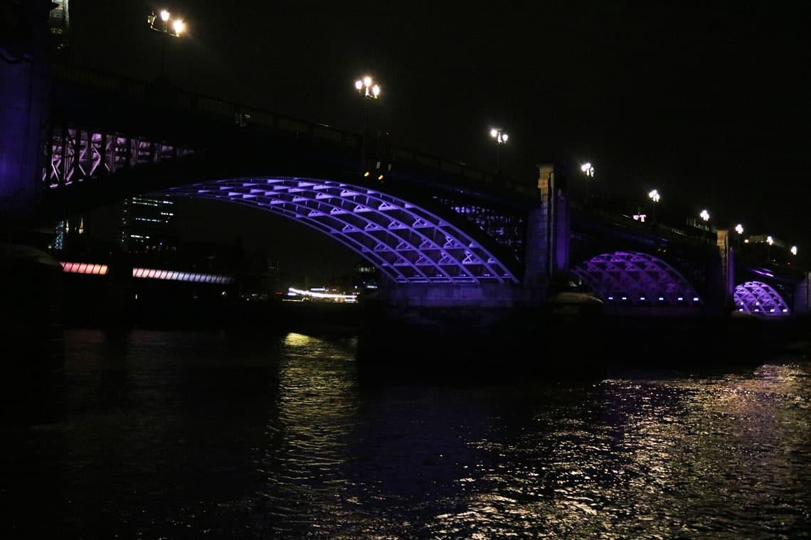 Southwark Bridge & the Illuminated River Project