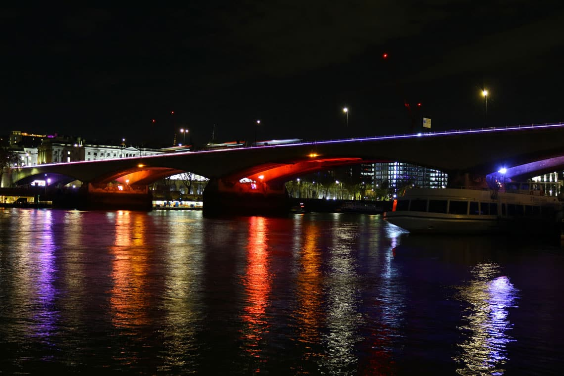 Waterloo Bridge & the Illuminated River Project