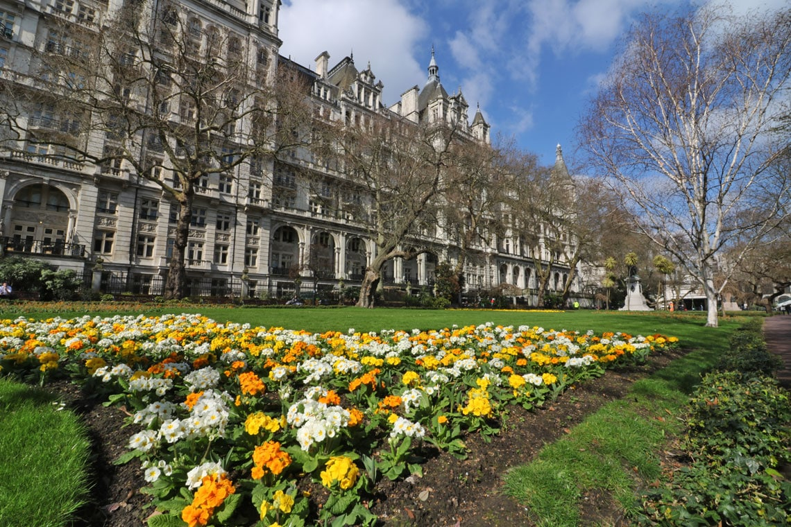 Whitehall Gardens, Victoria Embankment Gardens, City of Westminster