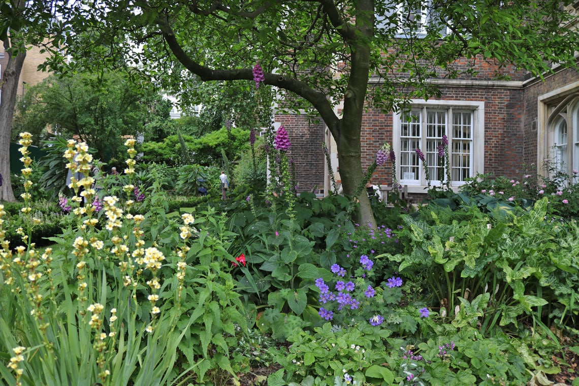 Middle Temple Garden, City of London