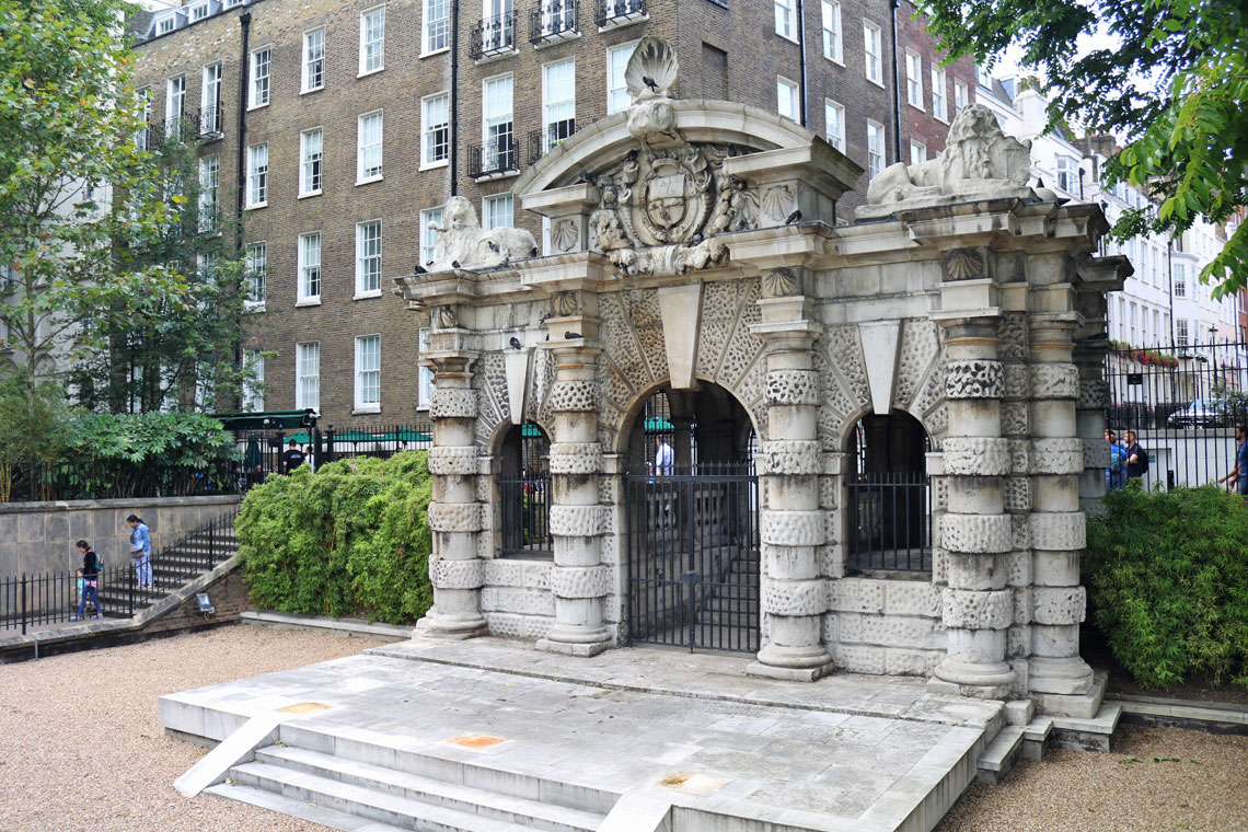 The Watergate, Victoria Embankment Gardens, City of Westminster
