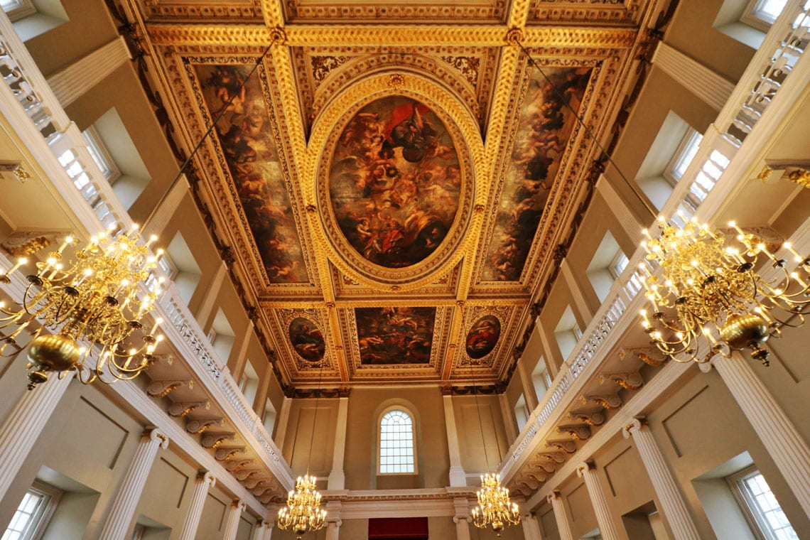 Rubens Ceiling, The Banqueting House, Whitehall, City of Westminster